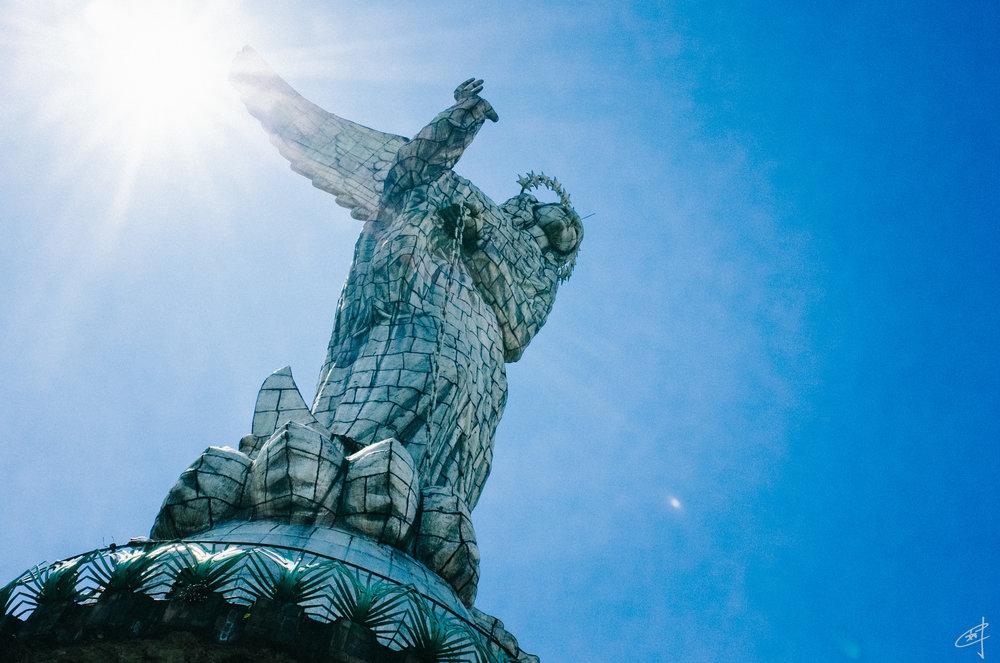 Virgen de Quito, 2018