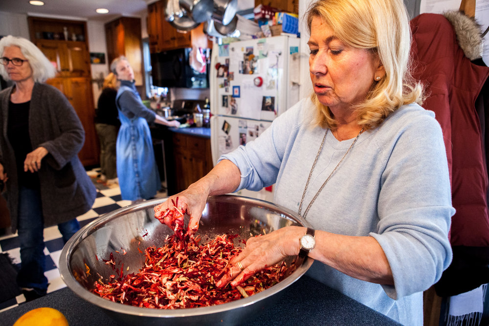 """""""Suppers"""" is a community nutrition and health program based in Princeton, New Jersey that aims to guide people on paths to healthier living by teaching them how to cook and by providing a non-judgmental support system"""