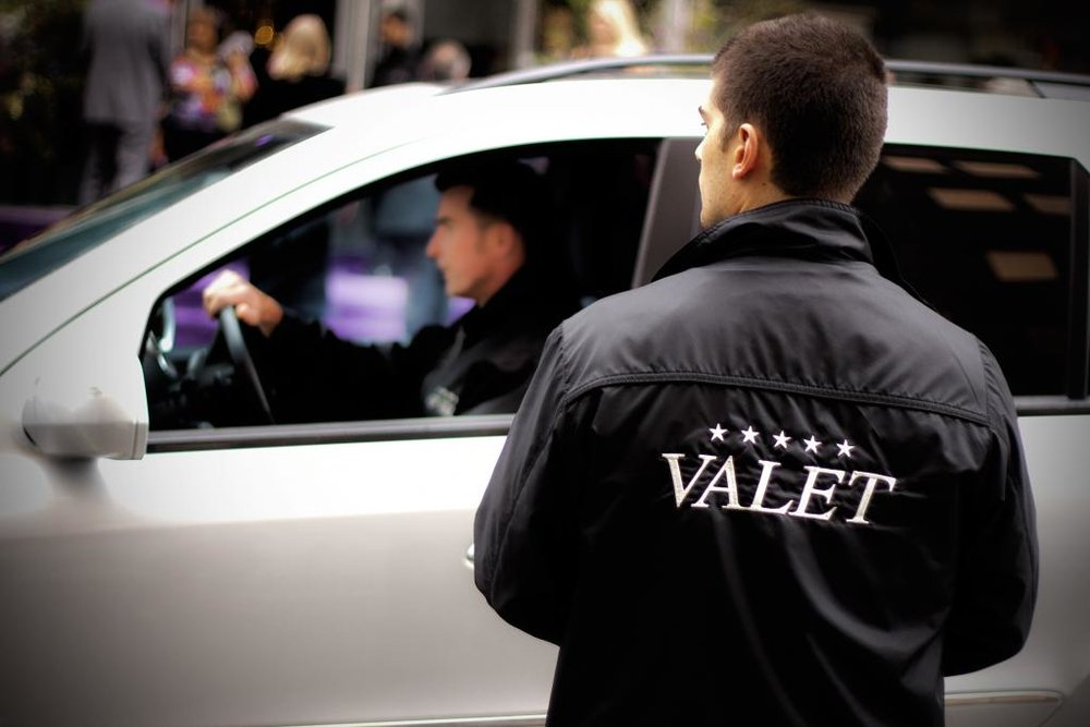 HOTEL VALET PARKING     $50 Valet All-Day Parking (Re-Entry Permitted)