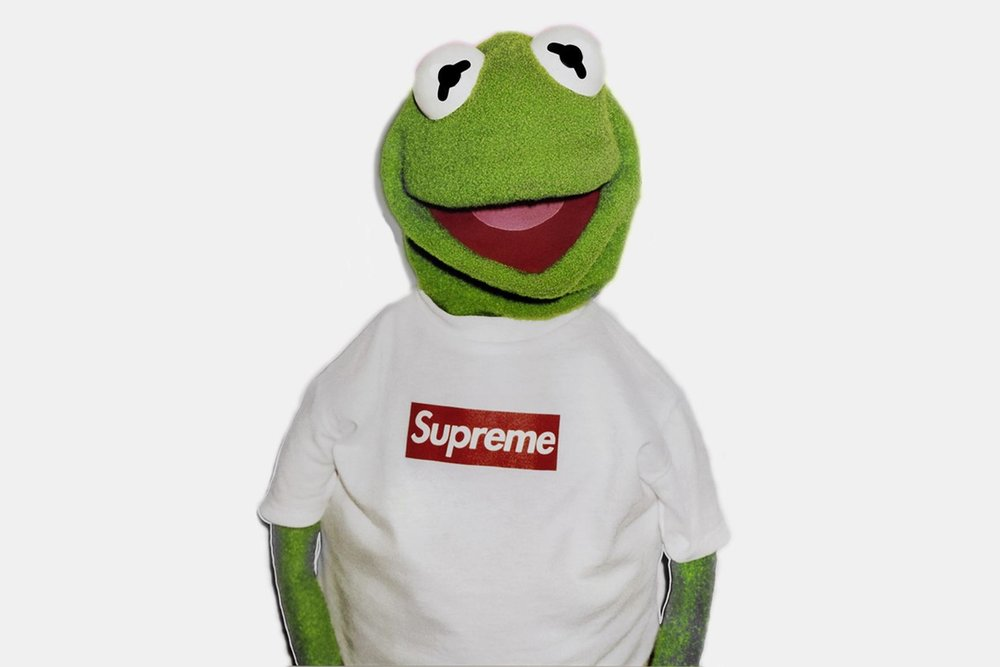 Supreme X Kermit the Frog