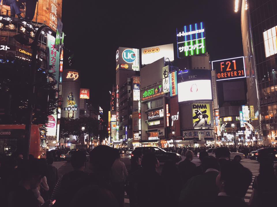Shibuya - photo by Claudia Tory