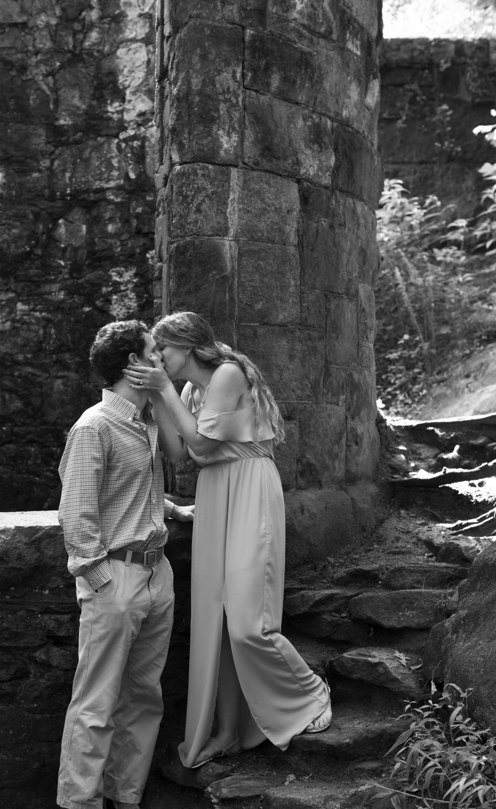 Paris Mountain State Park in Greenville South Carolina, Engagement Photography Session by Courtney Sample Photography