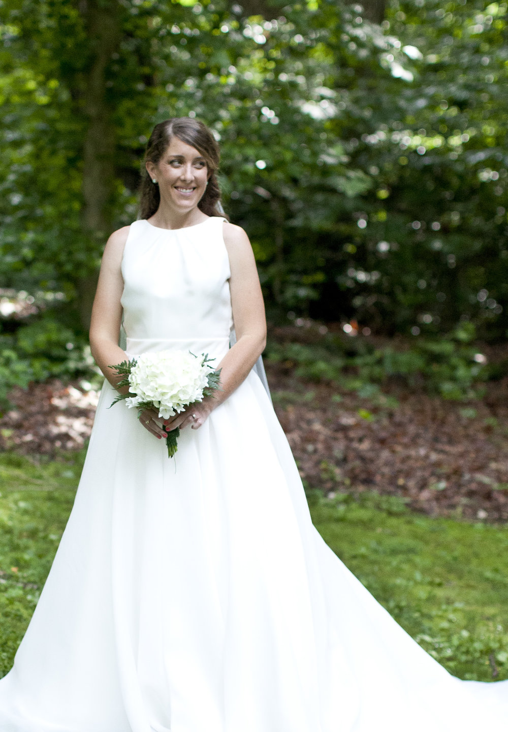 Bridal Portraits in Paris Mountain State Park Greenville South Carolina by Courtney Sample Photography