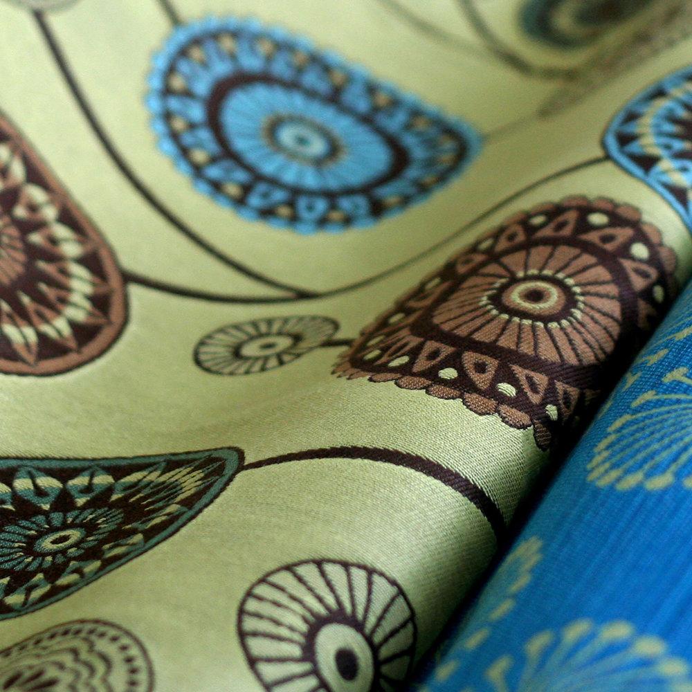 Fabric + Wallpaper