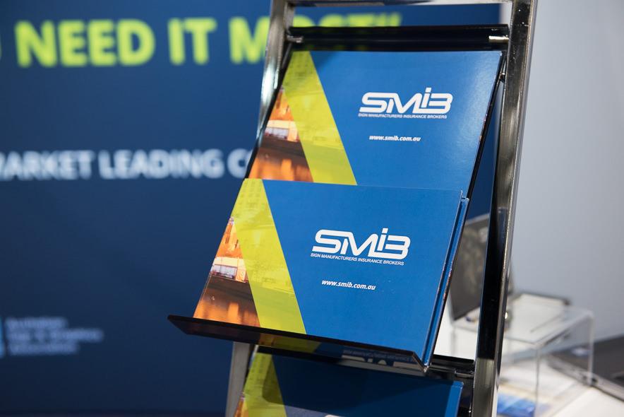 New SMIB brochures.