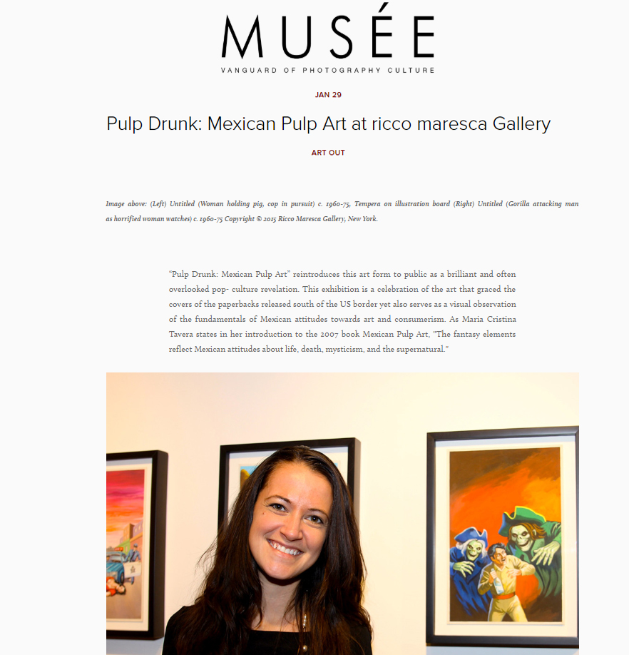 Mexican pulp art exhibition - Introduction by Maria Cristina Tavera
