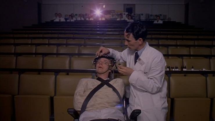 #8) A Clockwork Orange - (1971 - dir. Stanley Kubrick)