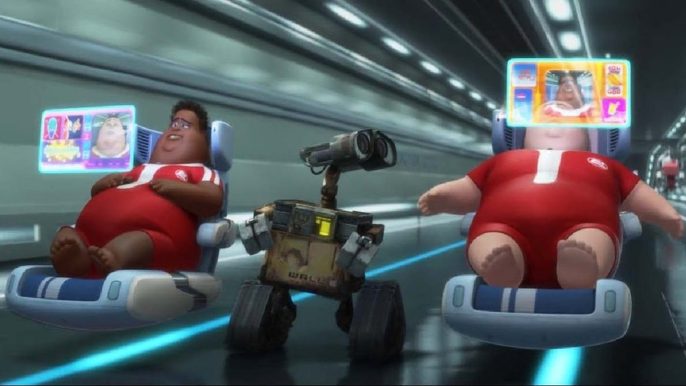 #24) WALL-E - (2008 - dir. Andrew Stanton)