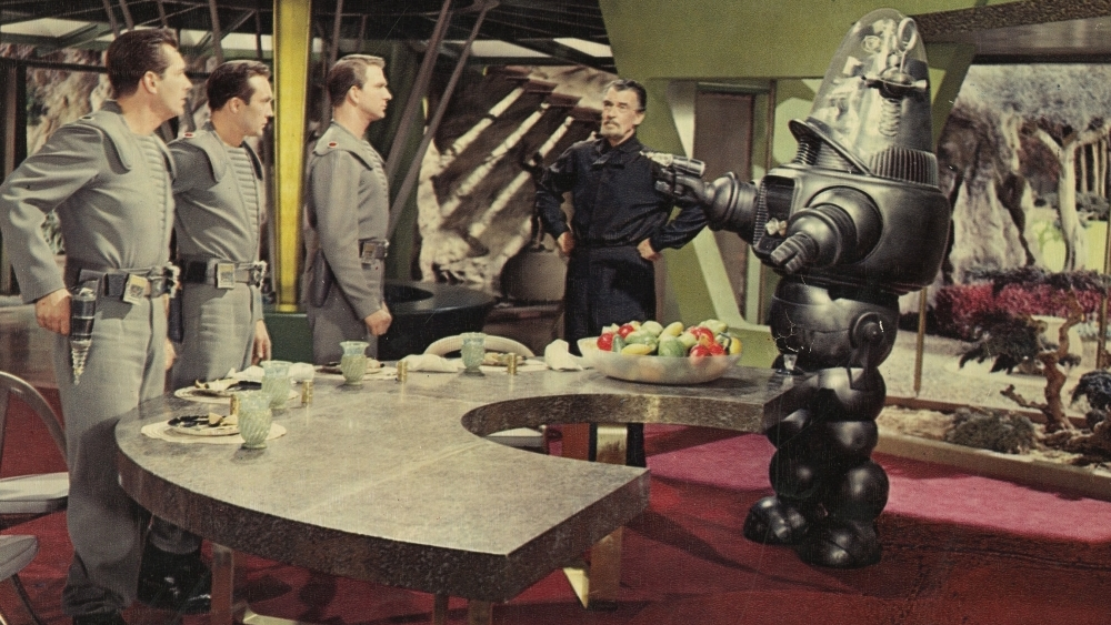 #18) Forbidden Planet (+7) - (1956 - dir. Fred M. Wilcox)