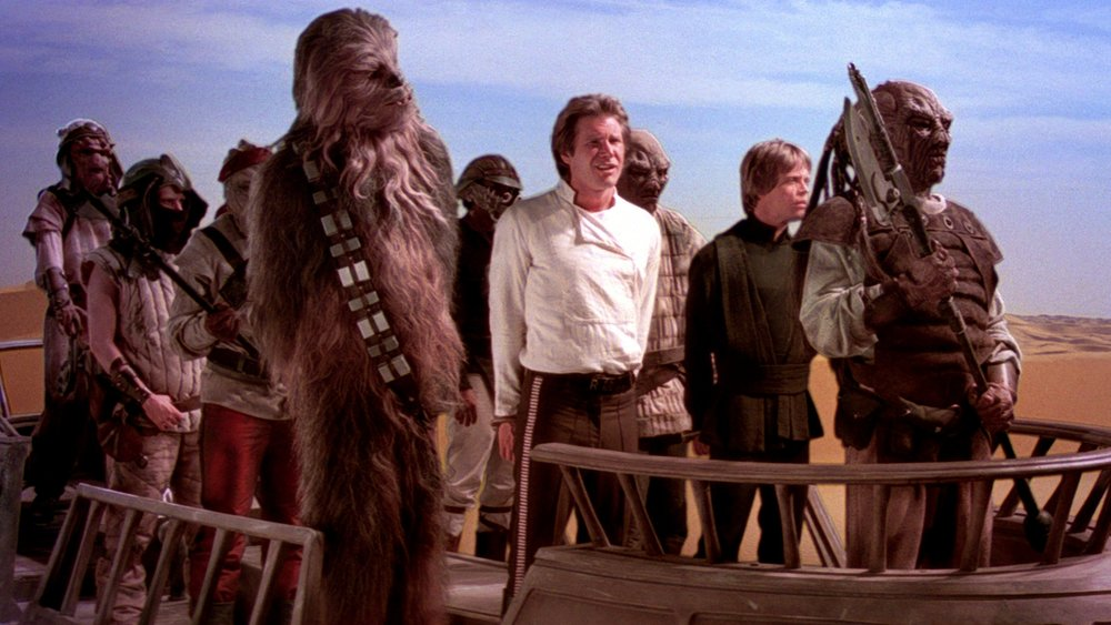 #38) Return of the Jedi (-7) - (1983 - dir. Richard Marquand)