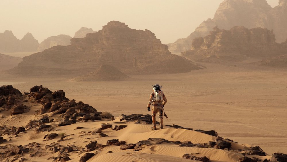 #91) The Martian(-26) - (2015 - dir. Ridley Scott)
