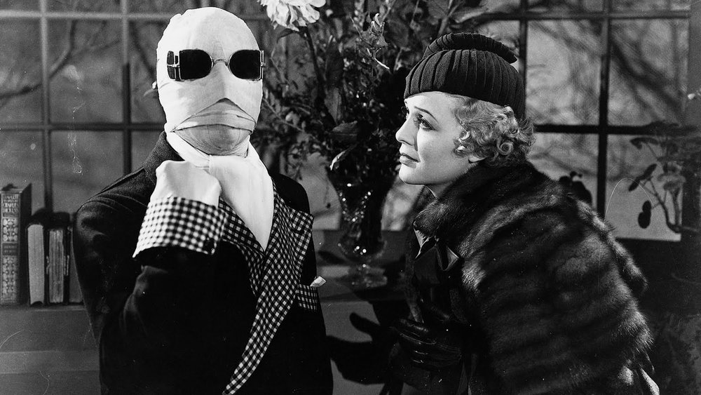 #70) The Invisible Man - (1933 - dir. James Whale)