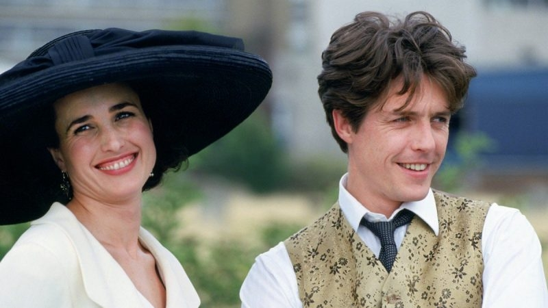 #82) Four Weddings and a Funeral - (1994 - dir. Mike Newell)