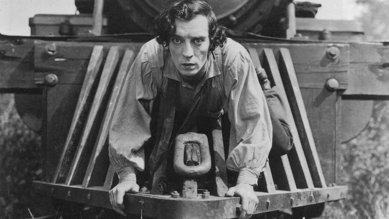 #4)The General - (1926 - dir. Clyde Bruckman & Buster Keaton)