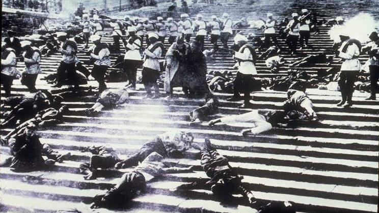 #5) Battleship Potemkin - (1925 - dir. Sergei Eisenstein)