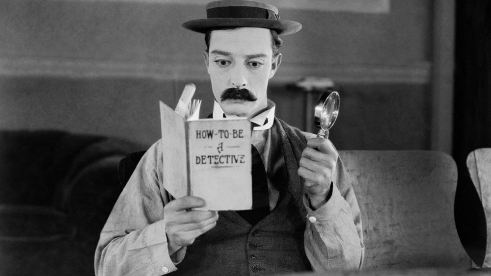#13) Sherlock Jr. - (1924 - dir. Buster Keaton, William Goodrich)