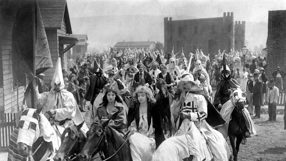#16) The Birth of a Nation - (1915 - dir. D. W. Griffith)