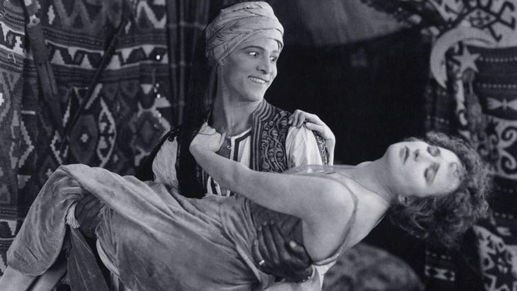 #70) The Sheik - (1921 - dir. George Melford)