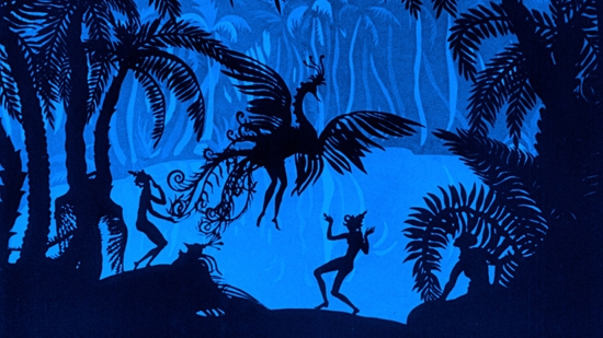 #84) The Adventures of Prince Achmed - (1926 - dir. Lotte Reiniger & Carl Koch)