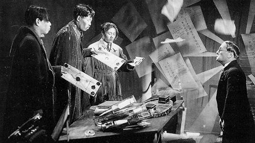 #91) Spione - (1928 - dir. Fritz Lang)
