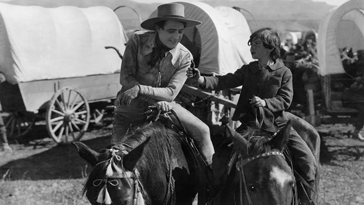 #100) The Covered Wagon - (1923 - dir. James Cruze)