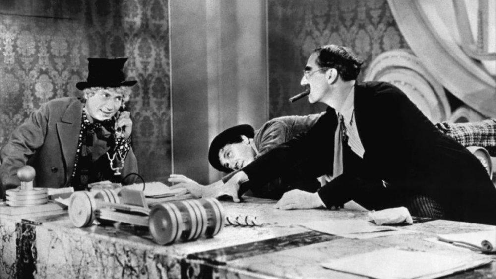 #11) Duck Soup - (1933 - dir. Leo McCarey