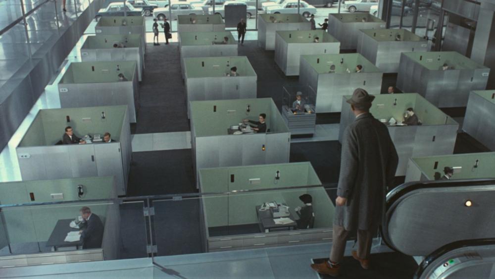#17) Playtime - (1967 - dir. Jacques Tati)