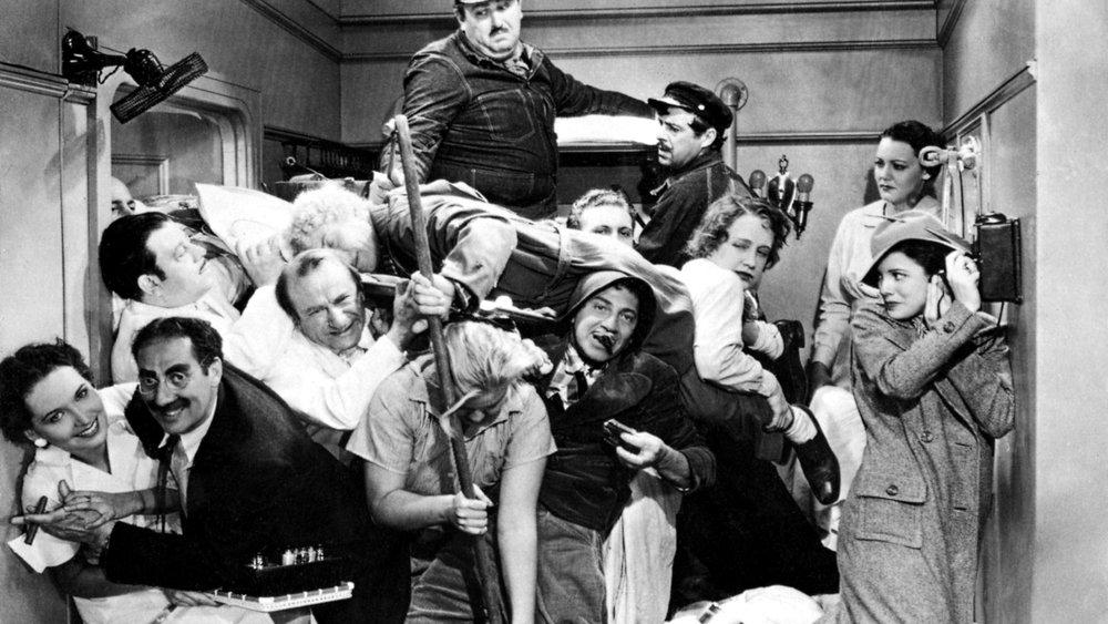 #31) A Night at the Opera - (1935 - dir. Sam Wood)