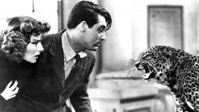 #35) Bringing Up Baby - (1938 - dir. Howard Hawks)