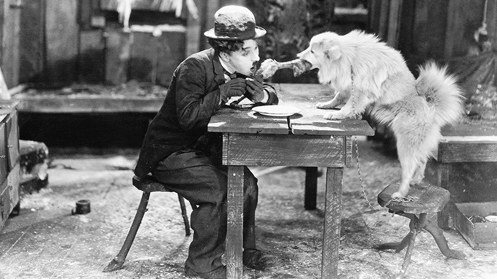 #47)The Gold Rush - (1925 - dir. Charlie Chaplin)