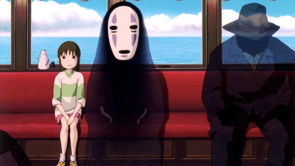 #2) Spirited Away - (2001 - dir.Hayao Miyazaki)