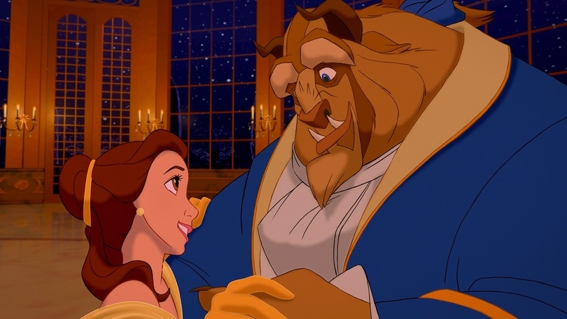 #4) Beauty and the Beast - (1991 - dir. Gary Trousdale, Kirk Wise)