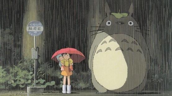 #8) My Neighbor Totoro - (1988 - dir.Hayao Miyazaki)