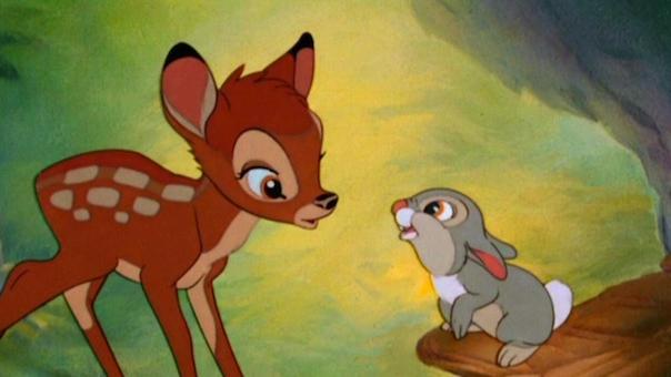 #10)Bambi - (1942 - dir.James Algar, Samuel Armstrong)