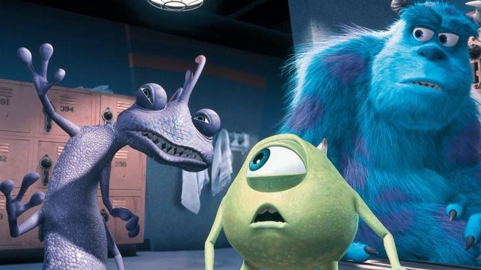 #18) Monsters, Inc. - (2001 - dir. Pete Docter and John Lasseter)