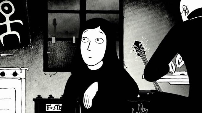 #28) Persepolis - (2007 - dir. Marjane Satrapi and Vincent Paronnaud)