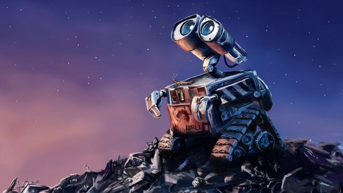 #31) WALL-E - (2008 - dir. Andrew Stanton)