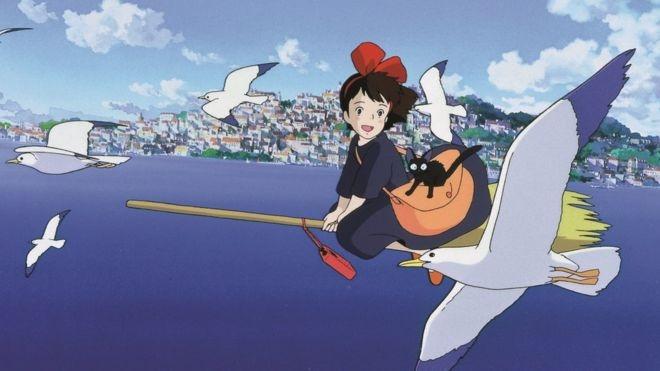 #33) Kiki's Delivery Service - (1989 - dir. Hayao Miyazaki)