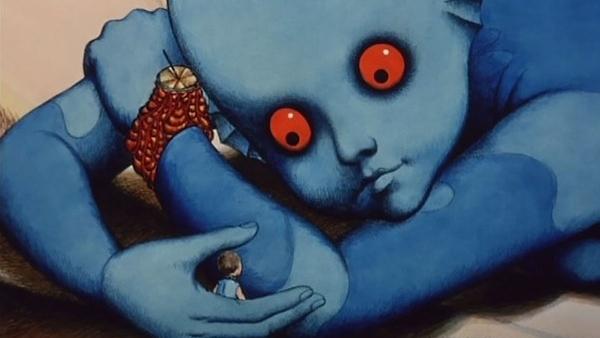 #35) Fantastic Planet - (1973 - dir. Rene Laloux)
