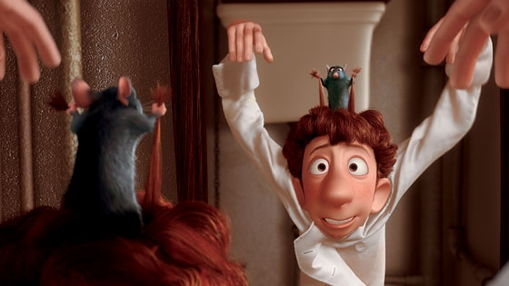 #41) Ratatouille - (2007 - dir. Brad Bird)
