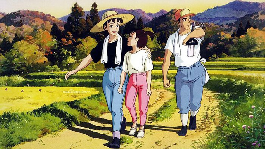 #59) Only Yesterday - (1991 - dir. Isao Takahata)