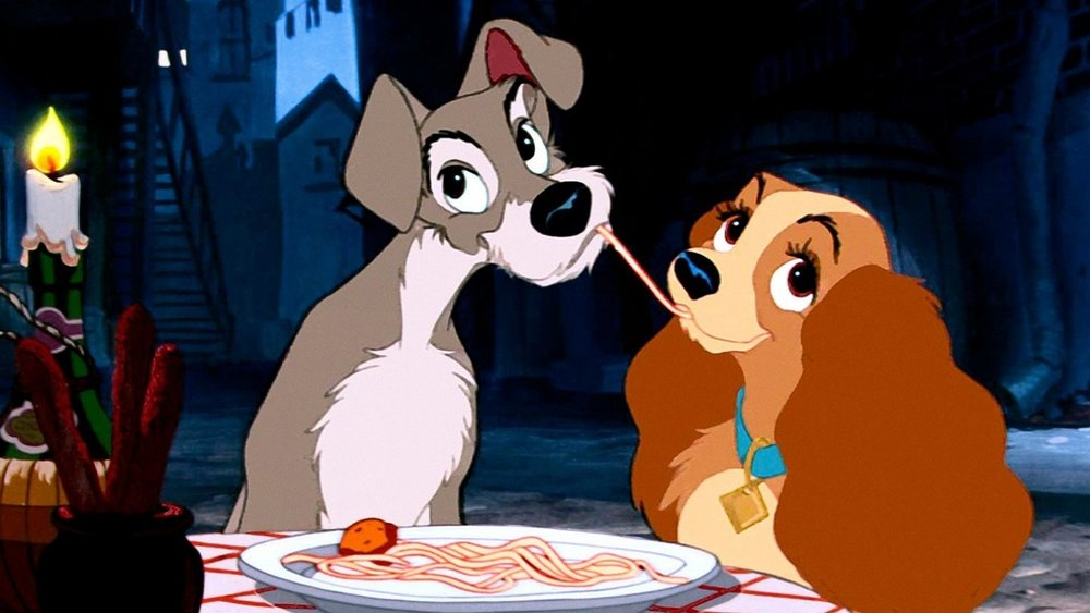 #61) Lady and the Tramp - (1955 - dir. Clyde Geronimi, Wilfred Jackson)