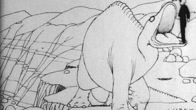 #62) Gertie the Dinosaur - (1914 - dir. Winsor McCay)