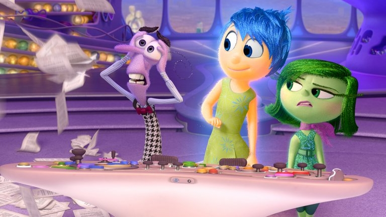 #66) Inside Out - (2015 - dir. Pete Docter and Jonas Rivera)