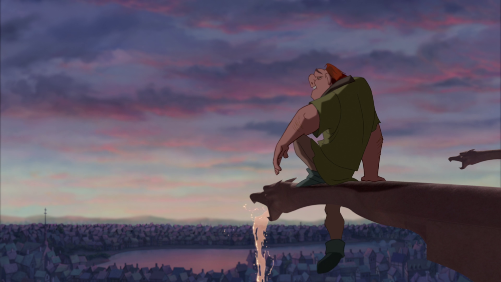 #71) The Hunchback of Notre Dame - (1996 - dir. Gary Trousdale, Kirk Wise)
