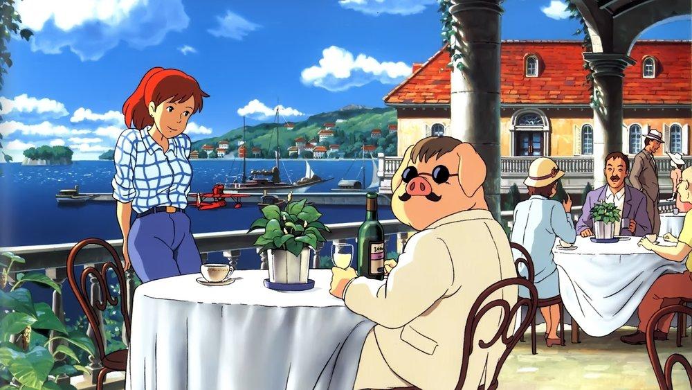 #81) Porco Rosso - (1992 - dir. Hayao Miyazaki)
