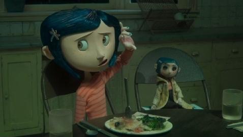 #84) Coraline - (2009 - dir. Henry Selick)