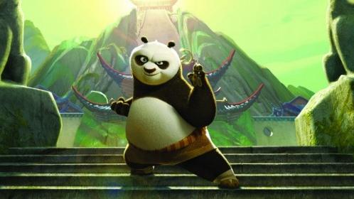 #88) Kung Fu Panda - (2008 - dir. John Stevenson and Mark Osborne)