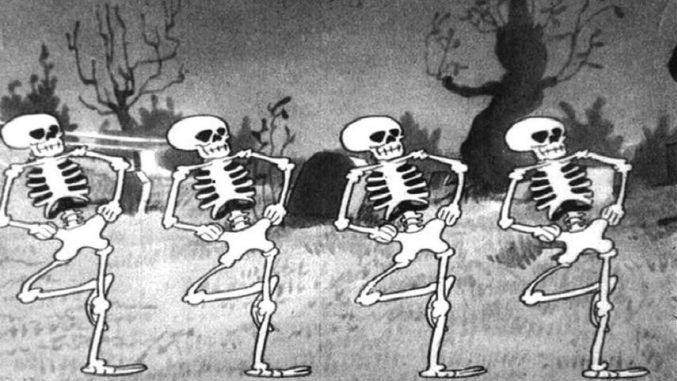 #98) The Skeleton Dance - (1929 - dir. Walt Disney)