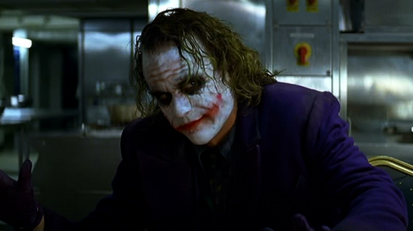 #1) The Dark Knight - (2008 - dir. Christopher Nolan)